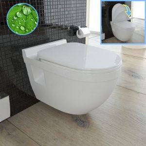 WC Test Spülrandlos
