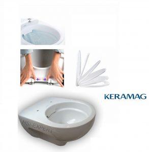 Test Spülrandlose Toilette von Keramag