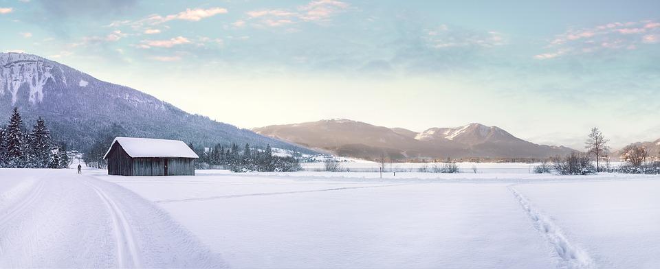 Die perfekte Landschaft für Langläufer.
