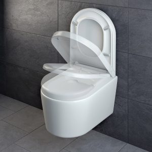 Test WC Spülrandlos