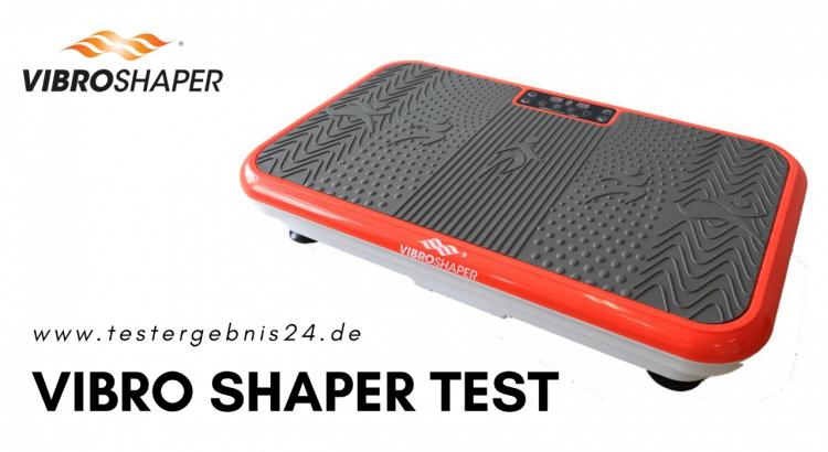 Vibrationsplatte von Vibro Shaper im Test.