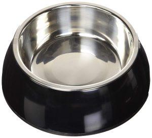 Unsere Wahl für den besten Wassernapf: Petmate Wassernapf im Edelstah Stil.