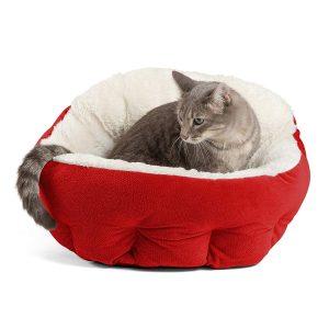 Unsere Empfehlung für das beste Bett für Katzen.