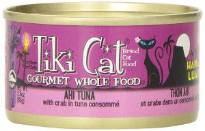 Der Platz 10 geht an Tiki Cat Dosenfutter für Katzen.