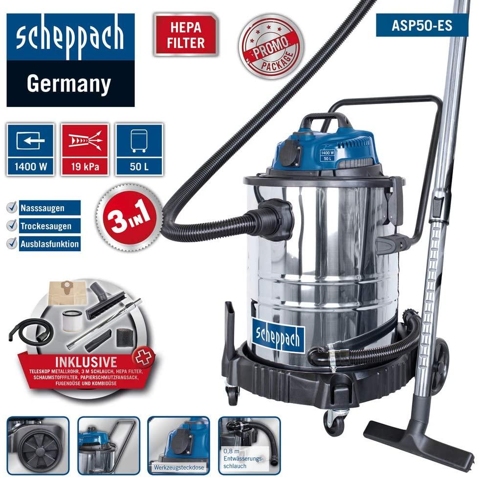 Scheppach ASP50-ES Test