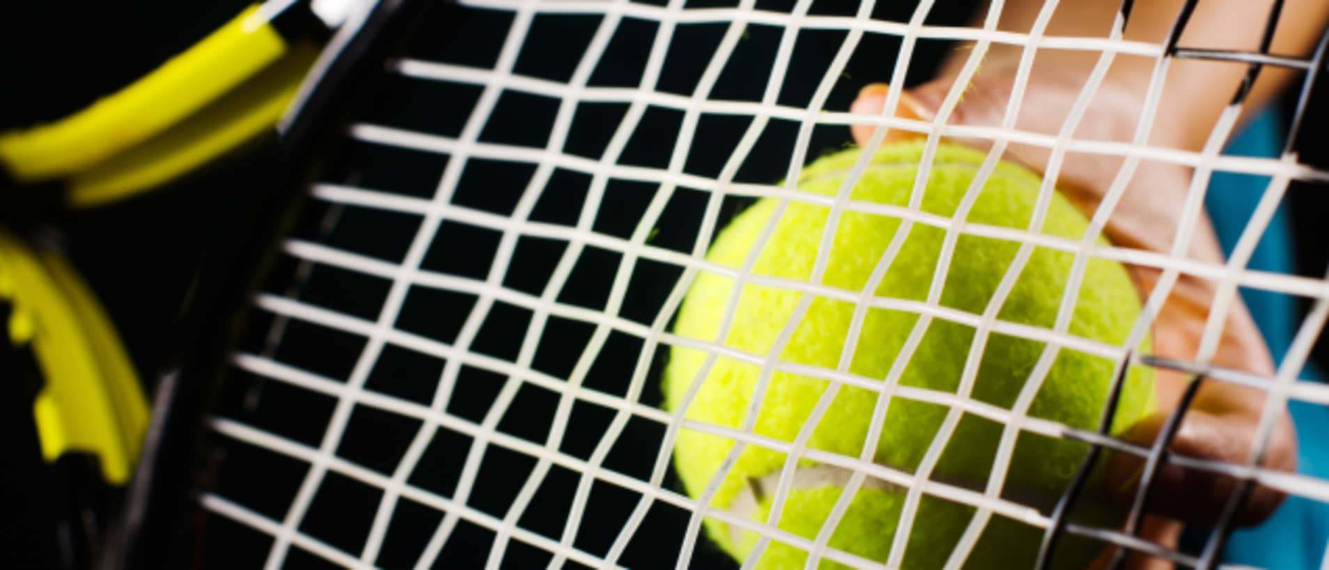 Tennissaiten Test