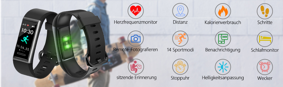 Fitness Tracker mit GPS und Pulsmesser Test: Welcher ist der beste?
