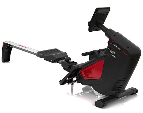 Das SportsTech RSX500 ist ein Rudergerät für den Heimgebrauch, das Magneten anstelle von Luft für den Widerstand verwendet.